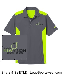 Nike Golf Dri-FIT Engineered Mesh Polo Design Zoom